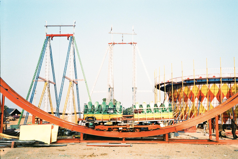 Carousel,Pushkar, India,Film 35mm