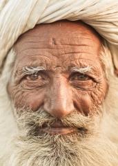 Portrait of Man, Camel Fair , India 2013