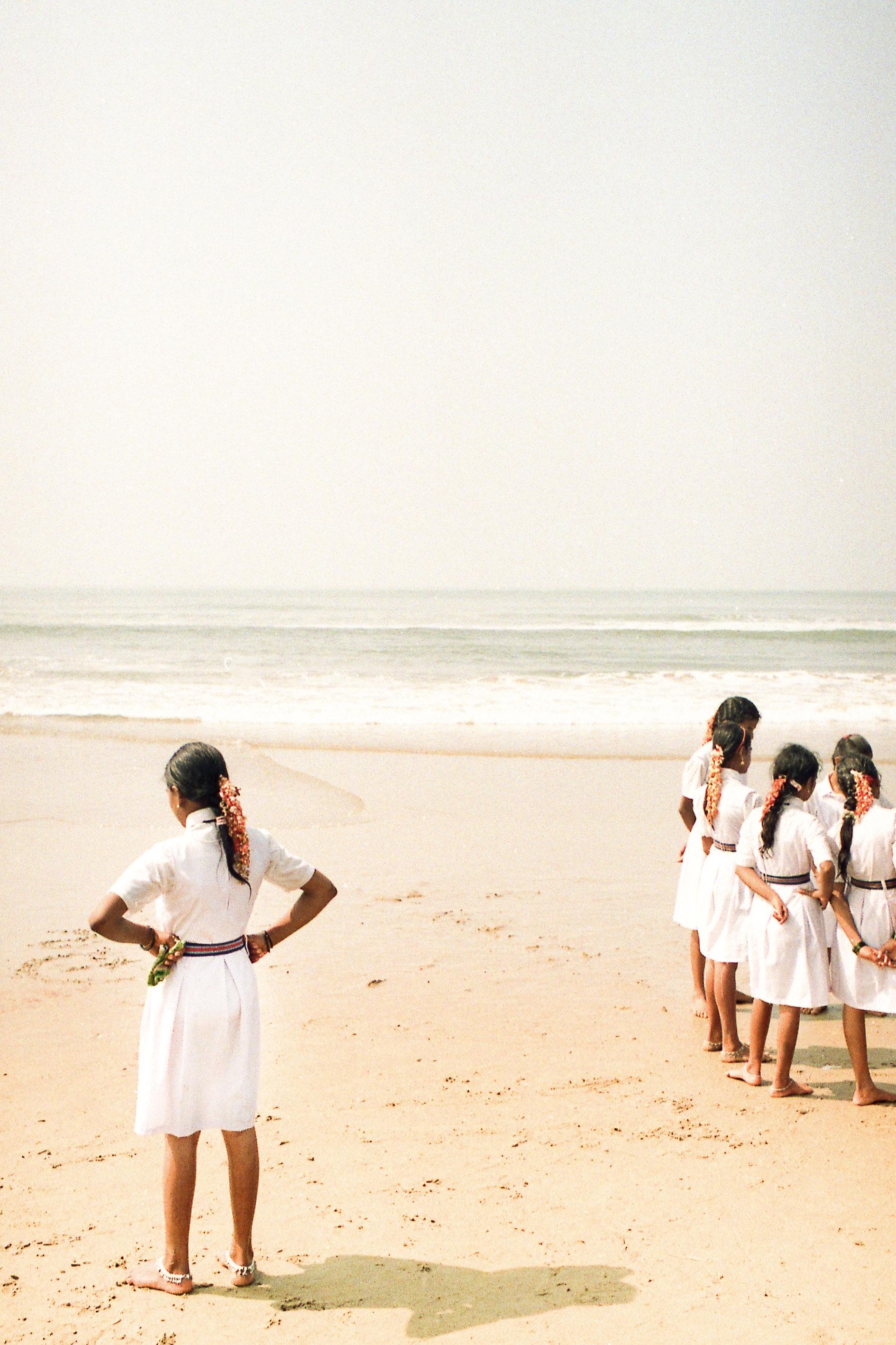 Girls, Gokarna, Karnataka,India, Incredible india, analog photography, shooting film, fine art photography, fine art, project, India, travel photography