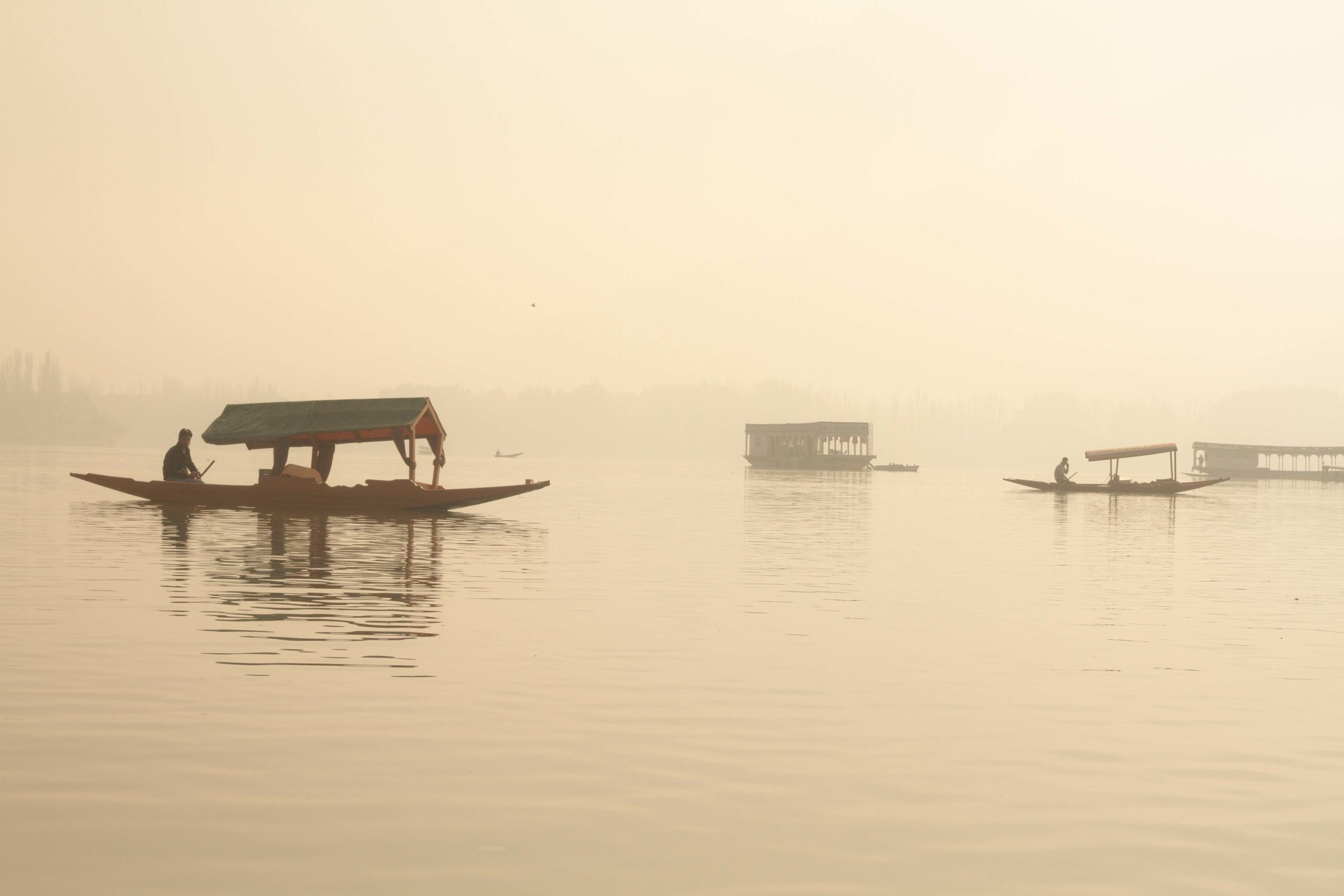 Boats, Srinagar, Kashmir