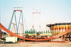 Carousel,Pushkar, India,Film 35mm, shooting film , analog photography, Camel Fair Festival, travel india, fine art, fine art photography, documentary, Rajasthan,