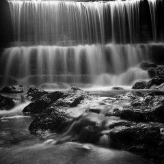 Waterfall, Botanic Garden, Penang, MalaysiaRolleiflex Planar