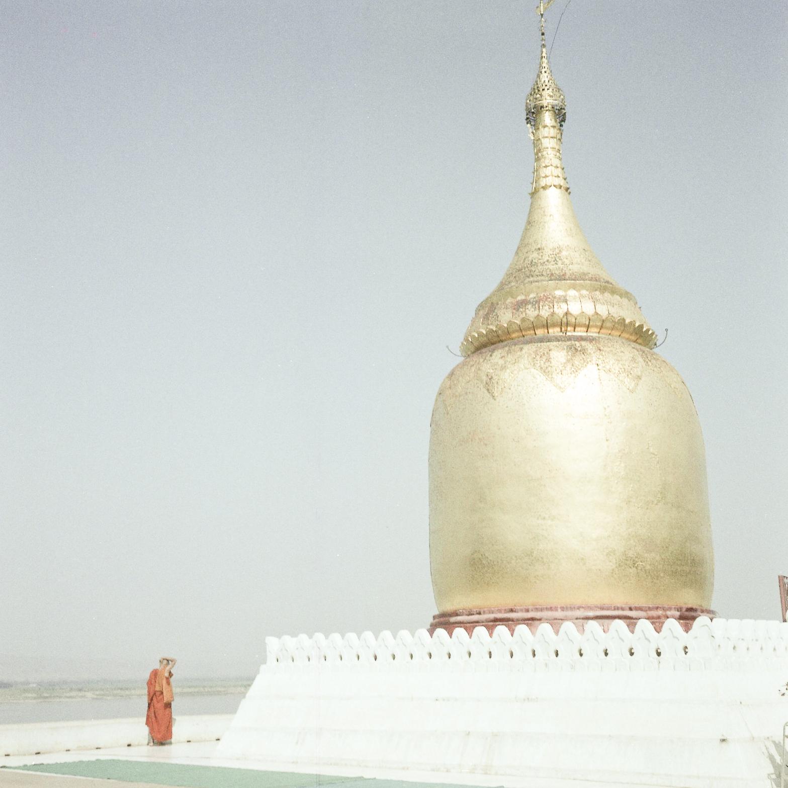 Monk, Bagan 2018