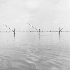 Ko yo, Songhkla, Thailand fish farm rolleiflex planar