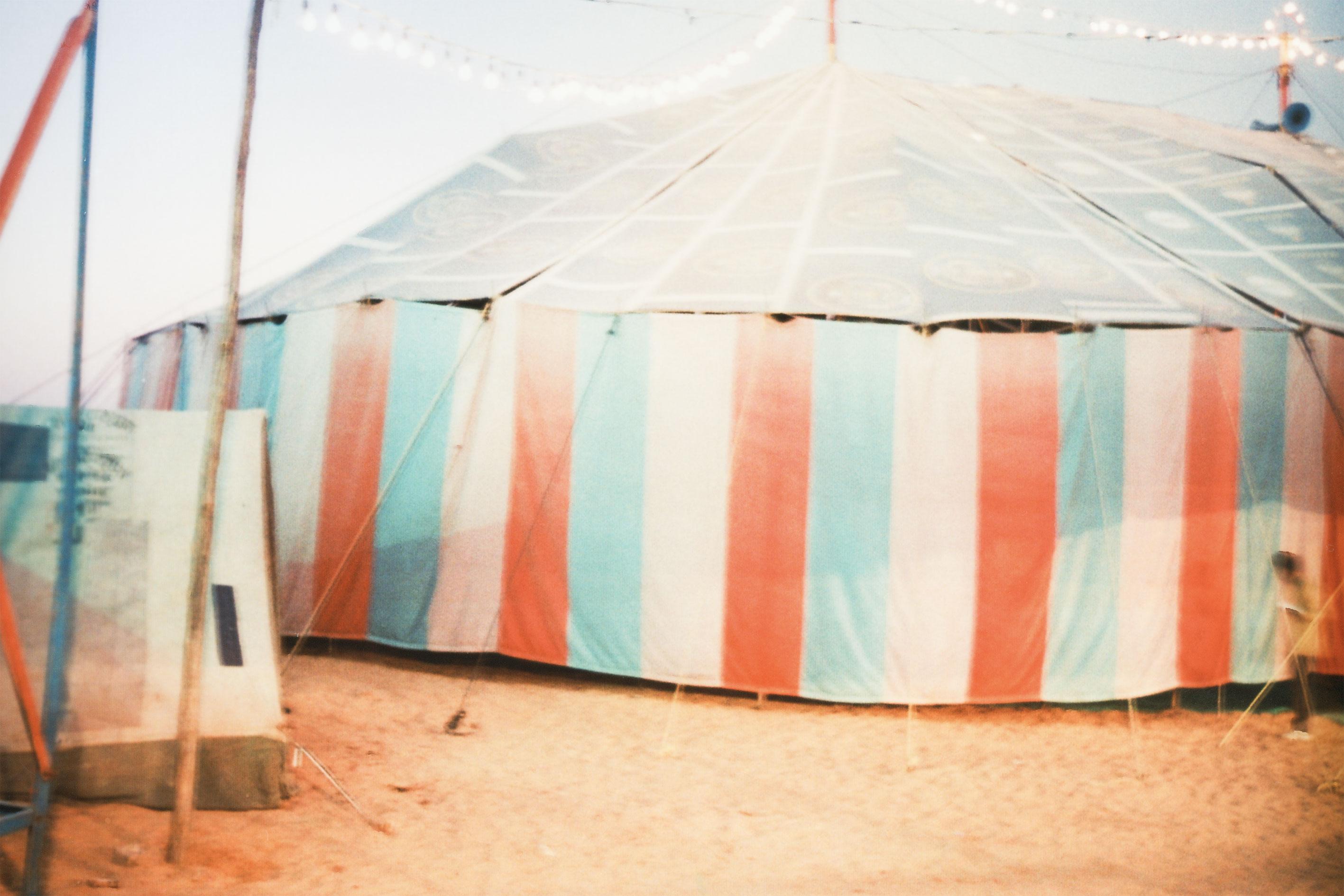 Boy at Circus,Pushkar, Rajasthan, India