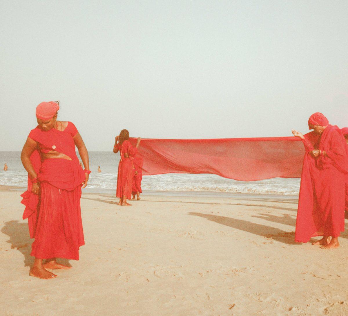 Group of Pilgrims, Karnataka, India