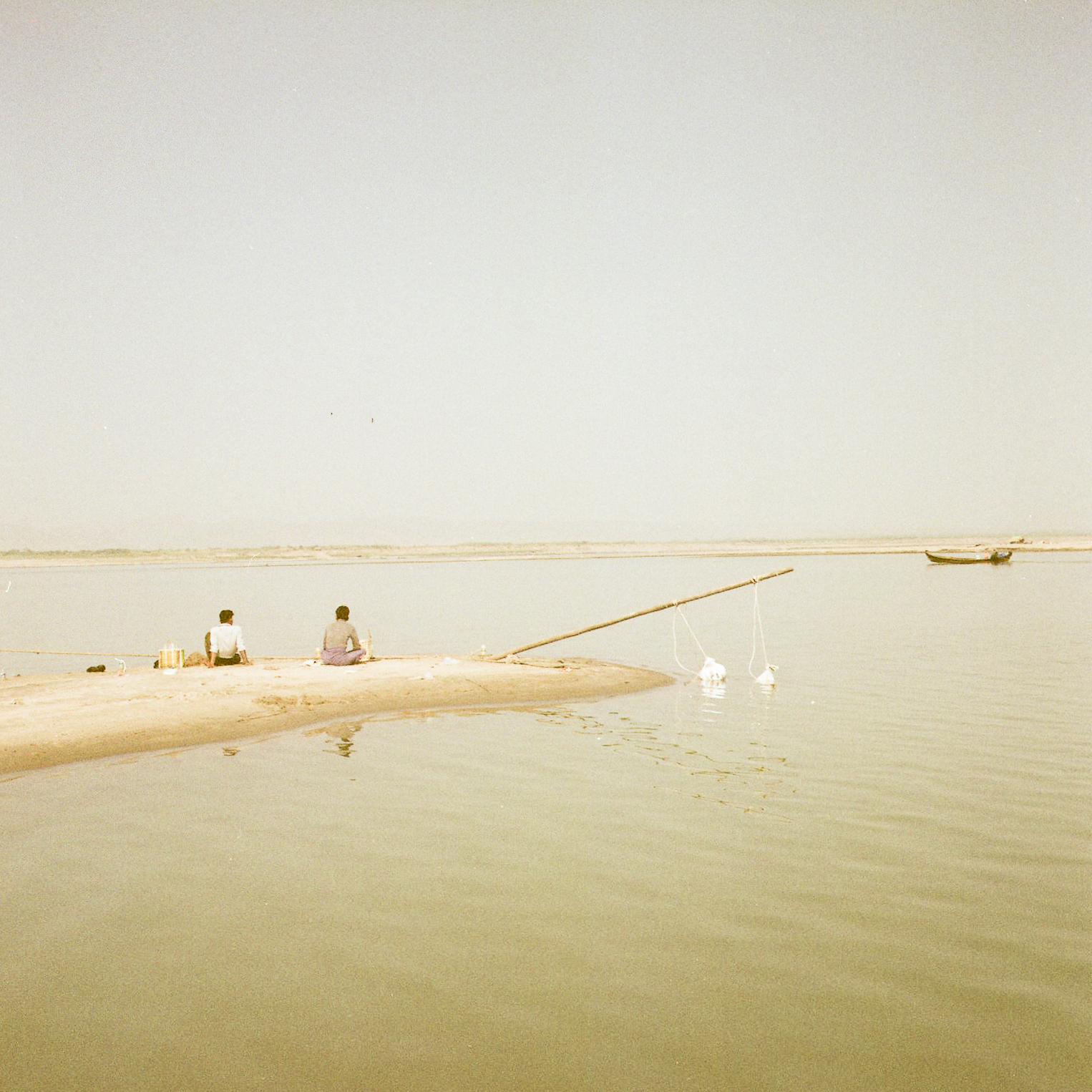 Fisherman in Bagan
