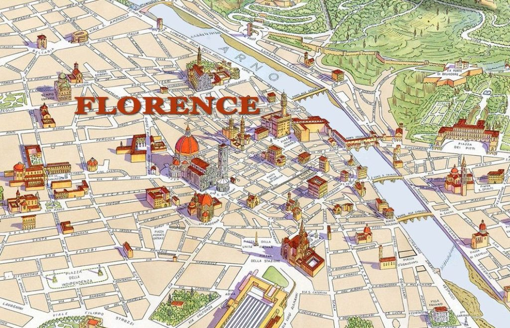 Map Florence