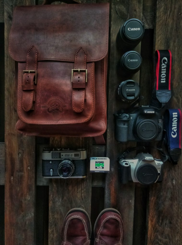 Prepare travel photography