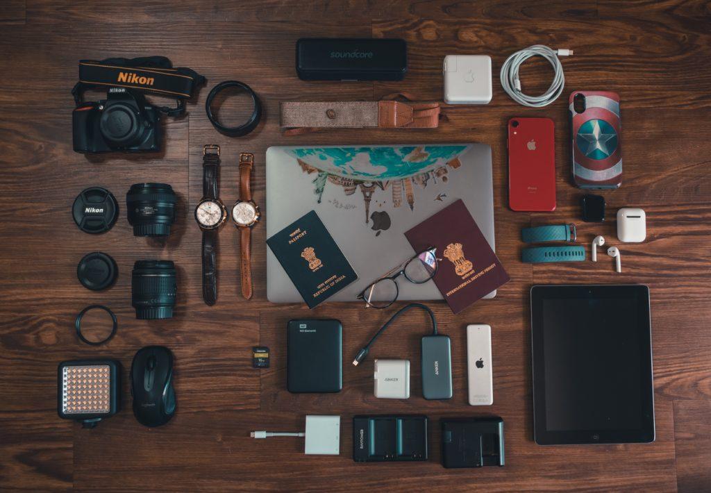 photography equipment, traveling equipment ,attrezzatura fotografica da viaggio,
