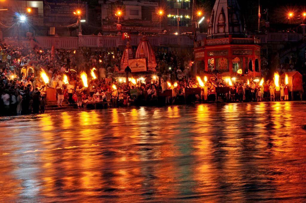 photograph Ganga Aarti